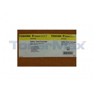 TOSHIBA E-STUDIO 360CP TONER CARTRIDGE YELLOW